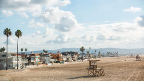 新港海滨加利福尼亚1 库存图片