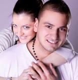 新爱夫妇有浪漫史 库存照片