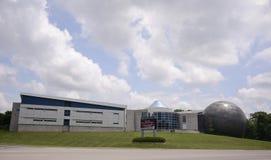 新生中心教育设施在迪克森,田纳西 库存照片