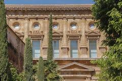 新生样式大厦在西班牙 免版税库存图片