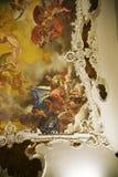 新生样式天花板在东方艺术博物馆在罗马意大利 免版税图库摄影