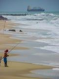 新生海滩的巴西-,北里约格朗德 库存照片