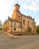 新生犹太教堂在莱斯科 库存图片