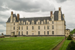新生的全国Museun - Ecouen城堡 免版税图库摄影