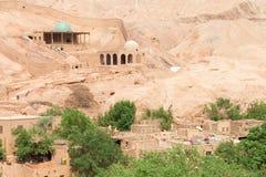 新疆,中国- 2015年5月05日:Tuyuk谷(吐峪沟)风景点 免版税库存图片