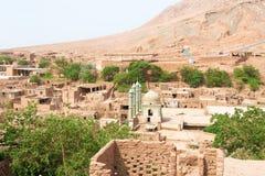 新疆,中国- 2015年5月05日:Tuyuk谷(吐峪沟)风景点 免版税库存照片