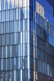 新的世界贸易中心摘要玻璃摩天大楼纽约NY 免版税库存图片