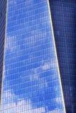 新的世界贸易中心摩天大楼摘要纽约 库存图片