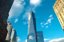 新的世界贸易中心 免版税库存图片