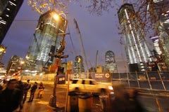 新的世界贸易中心035 库存图片