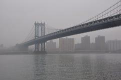 新的乔克曼哈顿桥梁 免版税库存照片