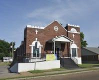 新的亚伦AME教会,孟菲斯,田纳西 库存照片