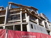 新的亚特兰大猎鹰体育场 库存照片