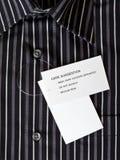 新的人的衬衣 免版税库存图片