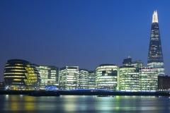 新的伦敦市政厅 免版税库存图片
