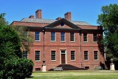新的伯尔尼, NC :1770 Tryon宫殿 库存照片
