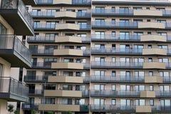 新的住宅区在布拉索夫,罗马尼亚 图库摄影