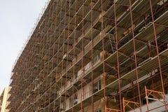 新的住宅区在布拉索夫,罗马尼亚 免版税库存图片