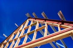 新的住宅建设家 免版税库存图片
