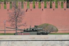 新的俄国陆军坦克T-14 Armata 库存照片