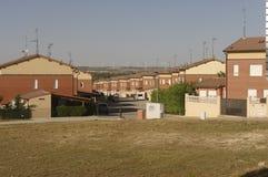 新的修造居住区在西班牙 图库摄影