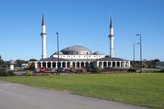 新的修造清真寺在墨尔本附近的Keysborough土耳其伊斯兰教和文化中心 库存照片