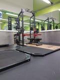 新的健身房玩具 图库摄影