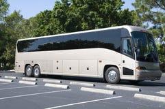 新的公共汽车 免版税库存照片