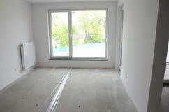新的公寓在波兰 库存照片