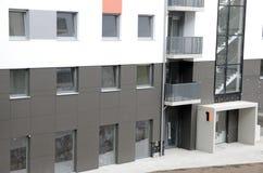 新的公寓在波兰 免版税图库摄影