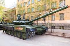 新的军事修改了俄国在g的军队主战坦克T-72B3M 图库摄影