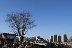 新的农村风景02在天津 免版税图库摄影