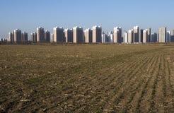 新的农村风景01在天津 免版税库存照片