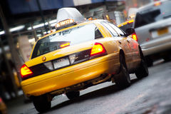 新的出租汽车约克 免版税库存图片