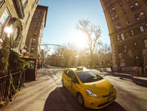 新的出租汽车约克 免版税图库摄影