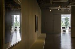 新的办公室,画廊,走廊 免版税图库摄影