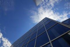 新的办公楼在商务中心 免版税图库摄影