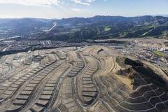 新的加利福尼亚邻里建设中 库存图片