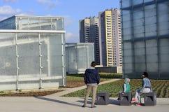新的博物馆在卡托维兹 免版税库存照片