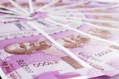 新的印地安货币 库存照片