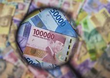 新的印度尼西亚卢比金钱 免版税库存图片