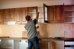 新的厨房 图库摄影