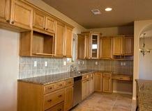 新的厨房 免版税库存照片