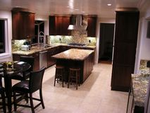 新的厨房 库存图片