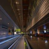 新的哈马德国际机场 免版税库存照片