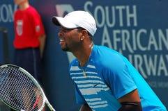 新的唐纳德,职业网球球员 免版税库存图片