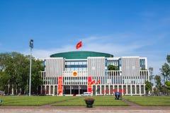新的国民议会大厦全景视图,是一个公开大大厦 库存图片