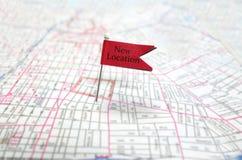 新的地点 免版税图库摄影