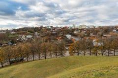 新的地球城市-弗拉基米尔的历史的中心在俄罗斯 库存照片