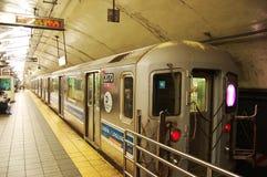 新的地铁约克 图库摄影